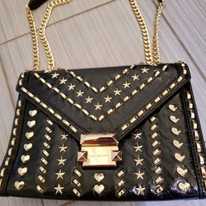 Michael kors heart/ star studded whitney bag!